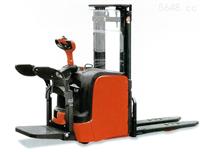 林德叉車(LINDE)1.4噸站板式電動托盤堆垛叉車