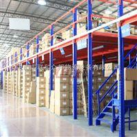 仓库二层搭建 组合阁楼货架厂跨度大承重好 联和众邦